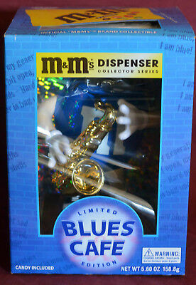 Unopened Box - M&M M & M Limited Blues Café Dispenser