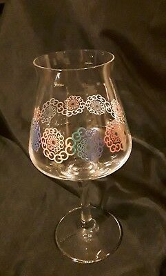 Other Half Rainbow Teku Beer Glass NEW