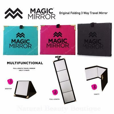 MAGIC MIRROR Multi-Functional 3 Way TRAVEL Folding FULL LENGTH Beauty Mirror