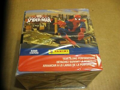 Marvel Ultimate Spider-Man Factory Sealed 50 Pack Box 2014 Panini Album Stickers