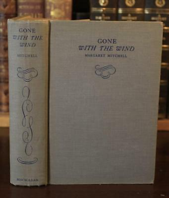 Margaret Mitchell GONE WITH THE WIND 1936 early Aug (1st year ED) CIVIL WAR CSA