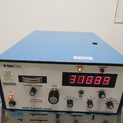 Met One Laser Particle Counter - P35-1-1