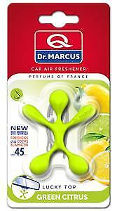 LUCKY TOP GREEN CITRUS AROMA CAR Smell HANGING AIR FRESHENER CONDITIONING FRESH