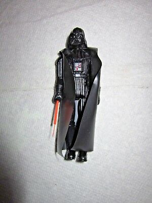 Vintage 1977 Star Wars Darth Vader 3.75in. Action Figure with Original Weapon