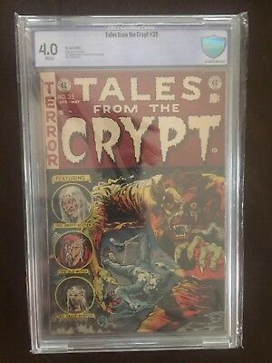 Tales From The Crypt #35 CBCS 4.0 White Pages!