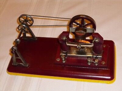 Antique Weeden Toy Electric Engine Works And Has Working Pully System