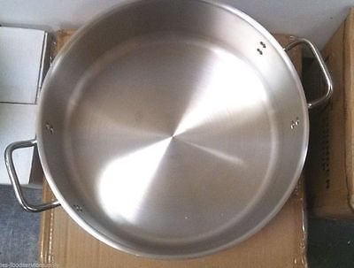 24 Quart Stock Pot Heavy Gauge Aluminum Commercial Cookware Cooker Boiler