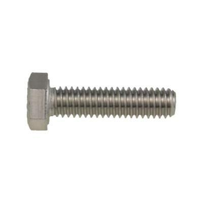 "Hex Set Screw 1/4"" UNC Imperial Coarse Bolt BSW Stainless A4-70 G316"