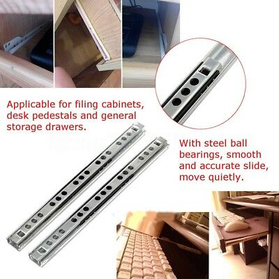 Micro Ball Guide Two Sections Steel Ball Two Fold Ball Slide Drawer Slide Useful