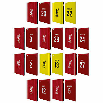 LIVERPOOL FC LFC 2018/19 PLAYERS HOME KIT 2 PU LEATHER BOOK CASE FOR APPLE iPAD