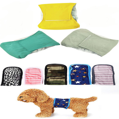 Reusable Dog Diapers and Belly Bands for Small Dog Puppy Physiology Band USA