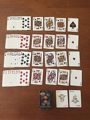 Harley Davidson Motorcycles Casino Quality Playing Cards 54 Card Deck (2004)