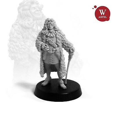 28mm wargaming and collectible miniature, Lord Maximillian Kroize
