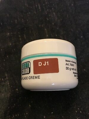 Dermacolor Camouflage Creme- big 30g pot Waterproof and long lasting-D J1. New