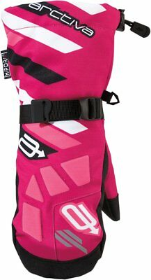 Arctiva Youth Girls Ravine Insulated Textile Snowmobile Mittens