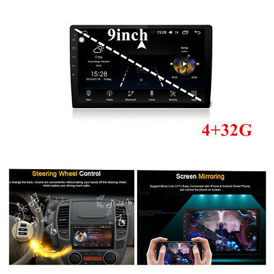 """9"""" Car GPS 2 DIN 4GB +32G Android 8.0 Stereo Radio MP5 Player Octa-Core DAB SWC"""