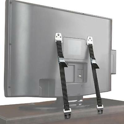 WALL ANCHOR STRAPS for TV & Furniture Baby Proof Anti Tip Safety Studs JA