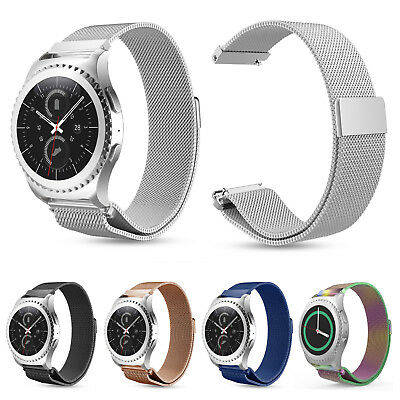 For Samsung Galaxy Watch 42mm SM-R810 Milanese Stainless Steel  Strap Wrist Band
