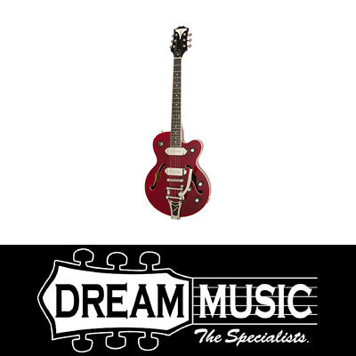 Epiphone Wildkat Wine Red Hollowbody Electric Guitar 2018 SAVE $240 off RRP$1199