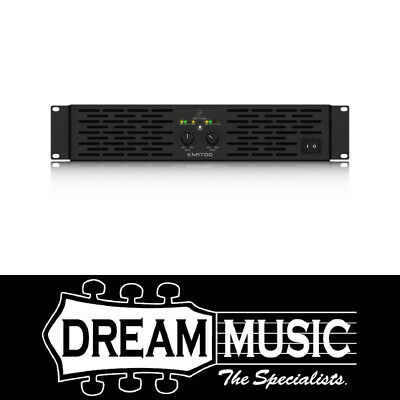 Behringer KM1700 Power Amplifier SAVE $74 off RRP$489