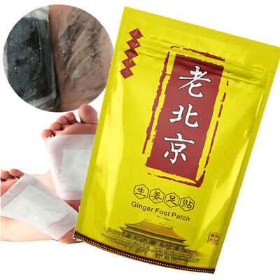 Ginger Revitalizing Detox Foot Patch ANTI-INFLAMMATION SWELLING FOOT PATCH KLS