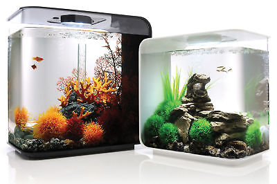 biOrb Flow Aquarium - White / Black Fish Tank MCR 15L / 30L MultiColour Tropical