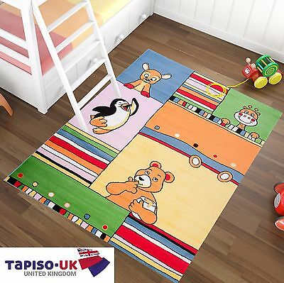 Kids Rug Bear Penguin Playroom Children S Bedroom Diffe Sizes Colours Carpet
