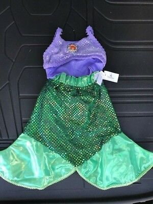 Disney Parks Authentic Ariel (The Little Mermaid) Costume Size 3T New W/ Tags