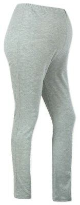 Maternity Stretch Grey Cotton Leggings - Size Large (Other Sizes Available) NEW