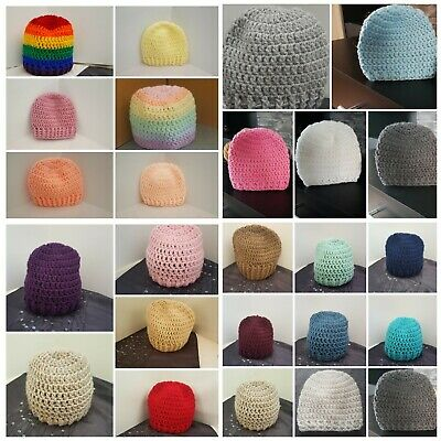 Handmade Crochet Hats baby boy girl early baby Newborn To 7 Yrs