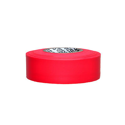 Presco PresGlo Arctic Roll Flagging Tape: 1-3/16 in. x 50 yds. (Neon Red)