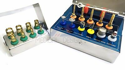 Dental Implant Bone Expander Compression Surgical Kit with Trephines Drills set