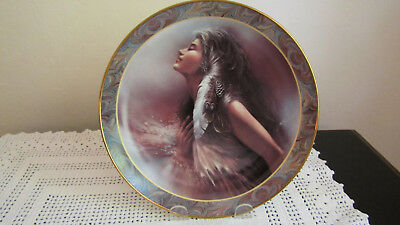 """Bradford Exchange Plate """"The Promise"""" Native Beauty Collection – Gorgeous!"""