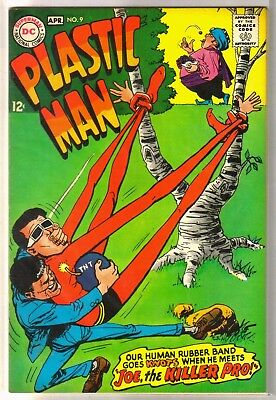 PLASTIC MAN #9 Joe the Killer Pro! DC Comic Book ~ FN