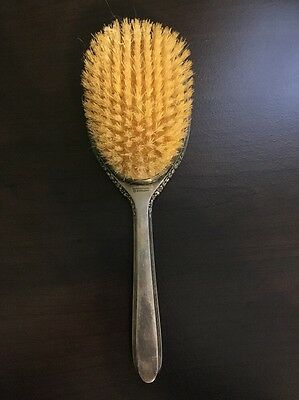 Hair Brush By International Sterling Silver