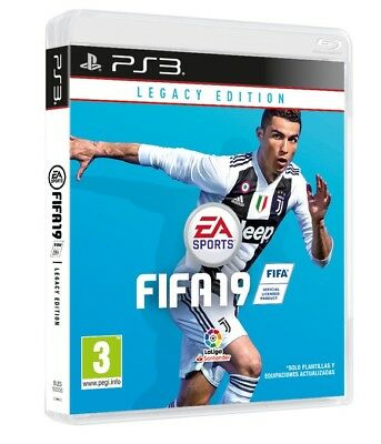 Fifa 19 Legacy Edition Ps3 Italiano Videogioco Fifa 2019 Gioco Play Station 3