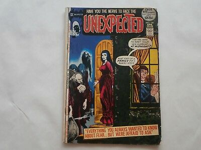 *AR*DC Horror The Unexpected #134 April 1972 The Restless Dead 25c G/VG
