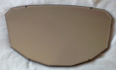 Vintage - Retro Decagon (10 Sided) Wall Mirror 1940's 50's Bevelled Edge