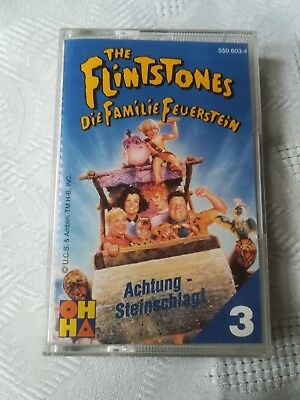 THE Flintstones Kinder Kassette