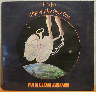 VAN DER GRAAF GENERATOR - H To He Who Am The Only One - Philips 6369 907 (D)- LP