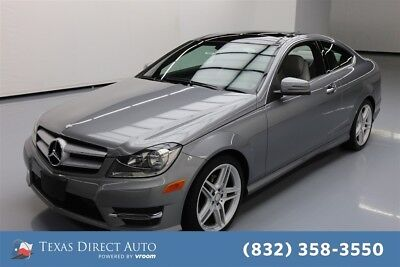 Mercedes-Benz C-Class C 250 Texas Direct Auto 2013 C 250 Used Turbo 1.8L I4 16V Automatic RWD Coupe Premium