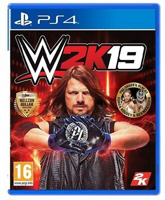 Wwe 2K19 Ps4 Videogioco Wrestling 2019 D1 One Edition Italiano Playstation 4