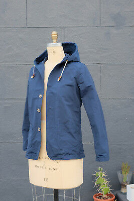 Mollusk made in California Windbreaker Lightweight Jacket ~ Size Small, Blue EUC