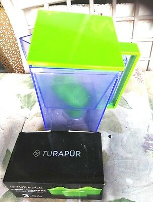 Turapur Water Pitcher With 2 New Filters, Ph Balance Best Water Hands Down!