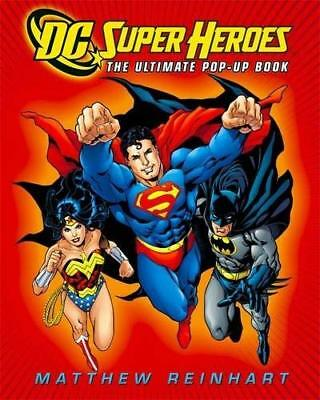 DC Super Heroes: The Ultimate Pop-Up Book by Inc. DC Comics New Hardback Book