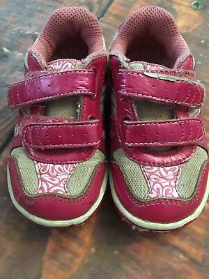 Stride Rite ToddlerGirls Shoes Size 6.5 W  Pre-Owned Pink White