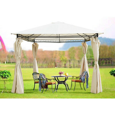 Heavy Duty Outdoor Garden Gazebo Party Tent  Wedding Marquee Awning Curtains UK❤