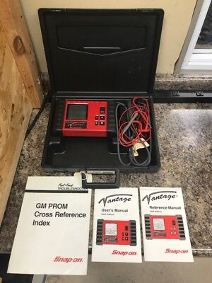 Snap-On MT2400 Vantage Diagnostics Power Graphing Meter Version 5.0 (FE1029947)