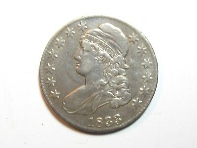 1833 Capped Bust Half Dollar - #1827