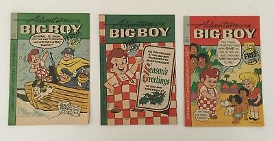 Adventures Of The Big Boy #212, 233, & 236 Comic Book